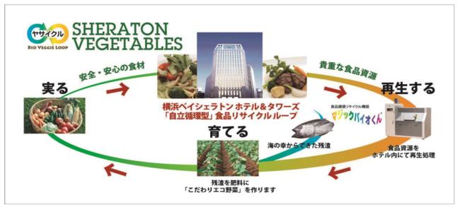 自立循環型食品リサイクルループ「ヤサイクル」