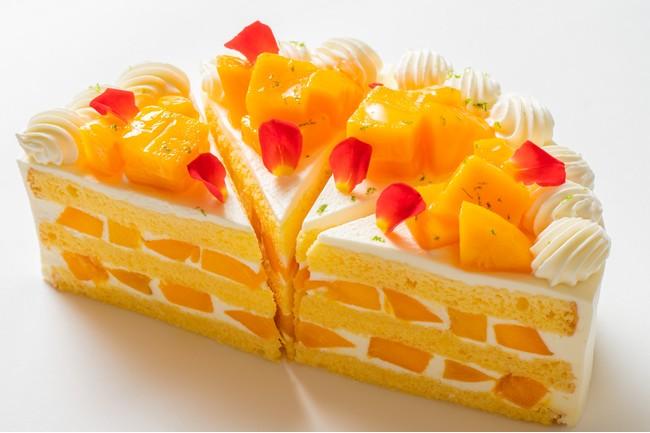 宮崎マンゴーの元祖、西都市産の完熟マンゴーを贅沢に使用
