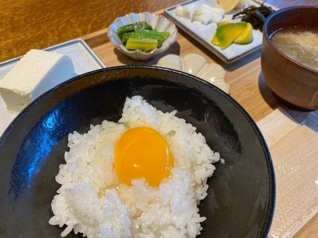 けふの朝ごはん定食