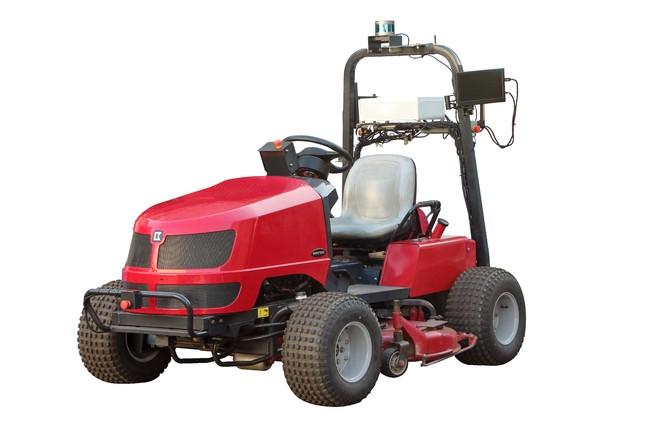 無人芝刈り機研究機