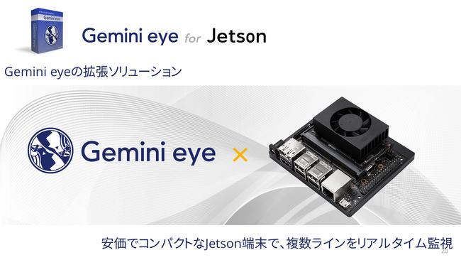 全てのJetson端末で動作可能。