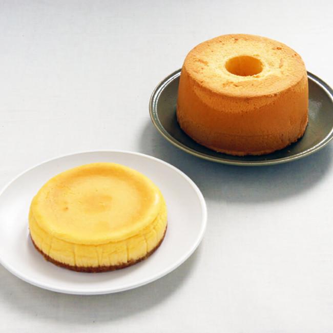 栗原はるみのシフォンケーキとチーズケーキのセット 6,000円+税