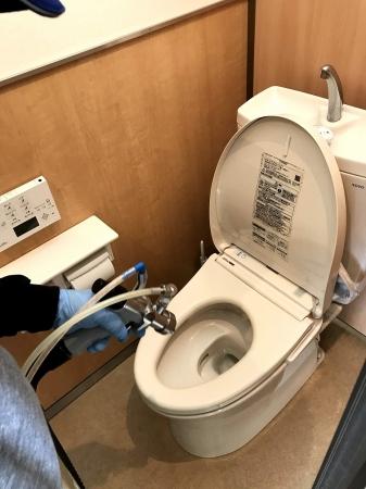 接触感染経路・トイレへの施工
