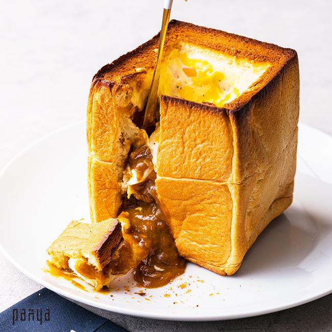 とろ~りチーズのカレートースト