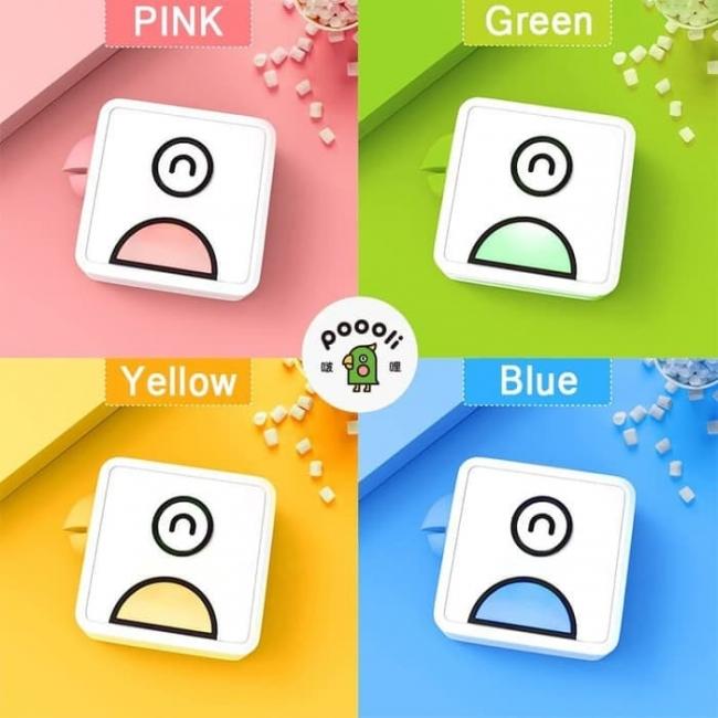 カラーバリエーションも4色展開