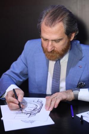 ブルガリ ウォッチ デザイン センター シニア・ディレクター:ファブリツィオ・ボナマッサ・スティリアーニ