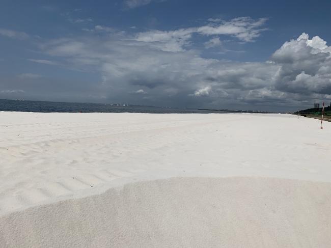 生まれ変わったいなげの浜