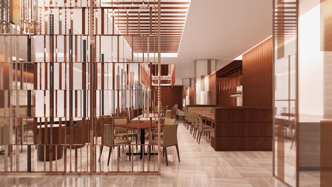 宇都宮市街の美しい眺望が望めるレストラン(13階)