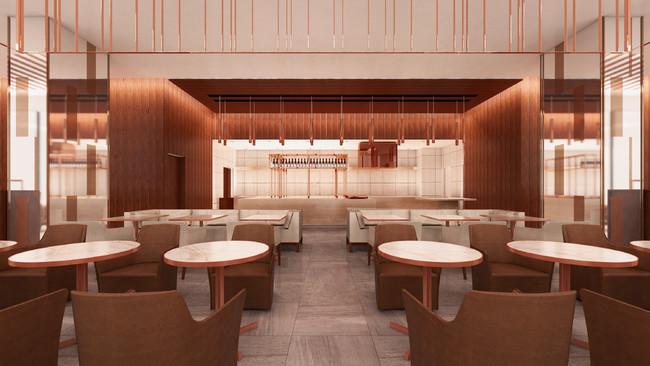 レストラン正面(13階)