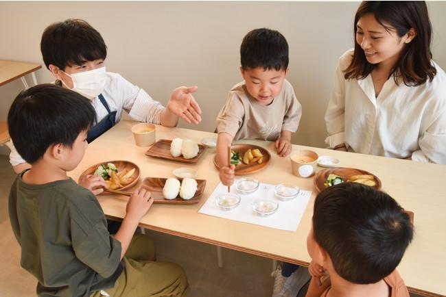 食育料理体験イメージ