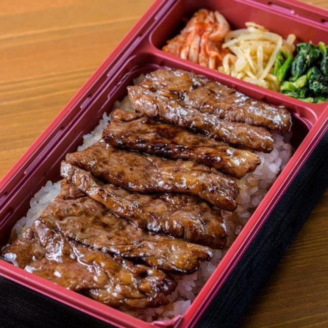 カルビ弁当(1480円) 原価ギリギリをつくカルビ弁当 サシの旨みが堪能できる