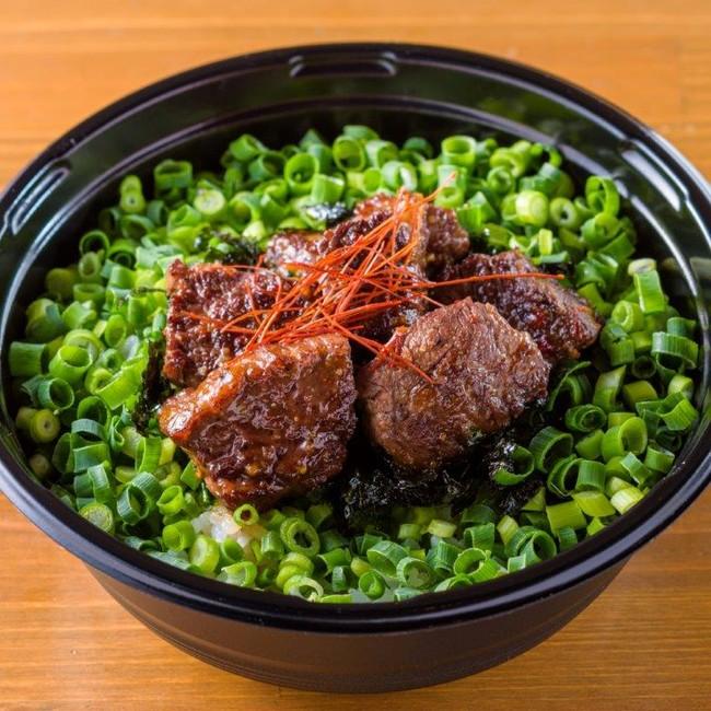 さいくぅ~丼(1380円) グルメ企画『居酒屋えぐざいる』とコラボしたハラミ丼