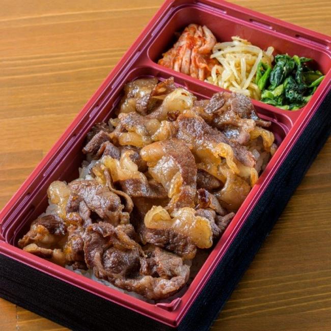 牛恋弁当(1280円) 牛恋自慢のあらゆる希少部位のオンパレード