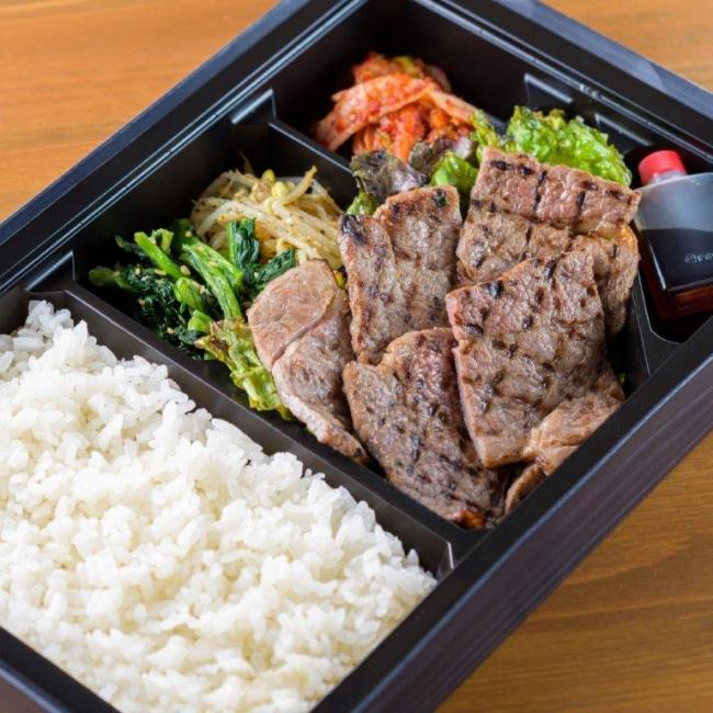 カイノミ弁当(1980円) カイノミはヒレに近い部位でやわらかさが特徴。