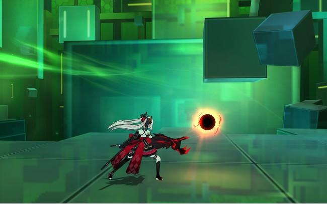 スキル「捕食者の怒り」、右手に溜めたエネルギーを敵に炸裂させよう!