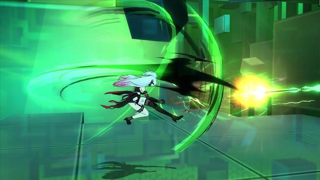 スキル「アマゾネスハント」:召喚した5本の槍を蹴り飛ばして攻撃するぞ!