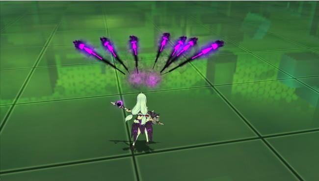 ステラ「トラブルパス」ゴーストが突撃して敵にダメージ!