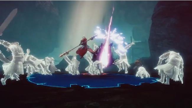 (1)戦闘:敵を倒すことで経験値やドロップアイテムを獲得