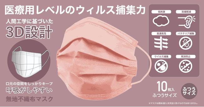 不織布 マスク カラー