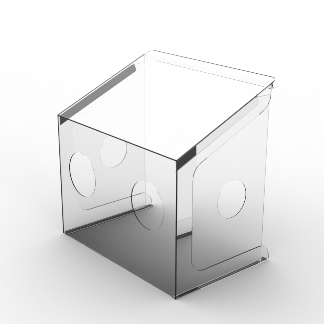 PAC60S + 側面パネルに穴追加