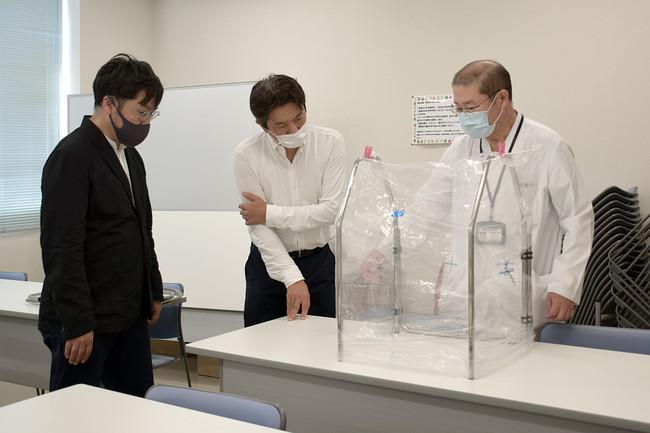 香川県立中央病院と幾度も打ち合わせを重ね製品化