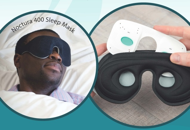 「Noctura 400」Sleep Mask使用イメージ
