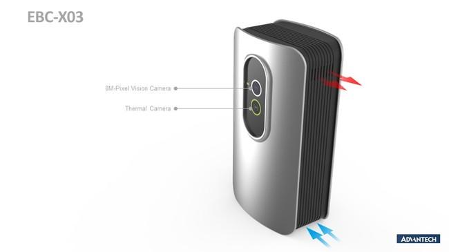 Advantech エッジAI DMSプラットフォーム EBC-X03