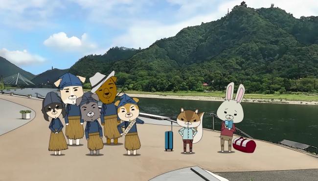 『紙兎ロペ』x岐阜市コラボムービー「もてなし信(のぶ)さんって誰っすか!?」より