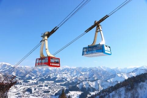 湯沢高原スキー場ロープウェイ
