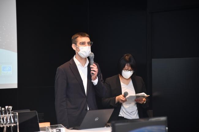 株式会社ニコン・エシロール代表取締役社長 兼 最高経営責任者(CEO) 二コラ・バルビエ氏