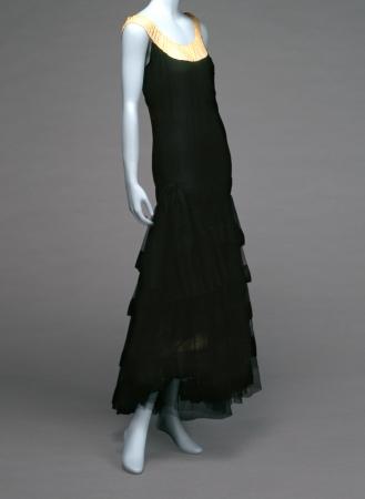イヴニング・ドレス、ガブリエル・シャネル 1929年