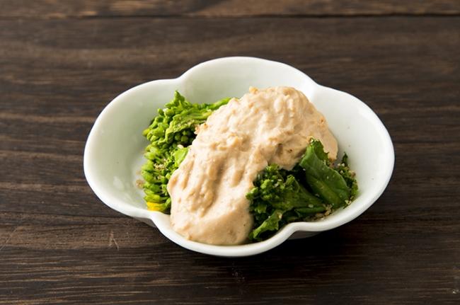 青菜の味噌白和え