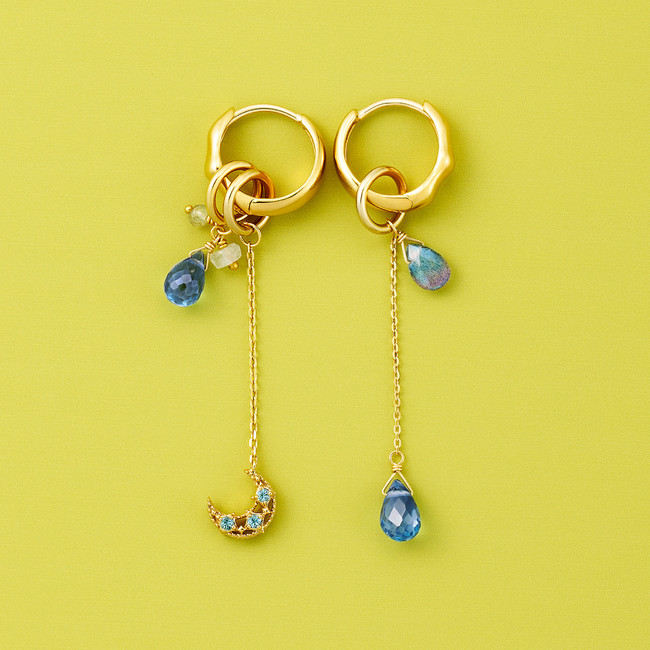 TOY CHARM pierced earrings coordinate.03