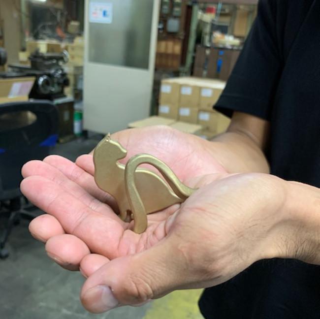 加工技術と愛の結晶「しっぽ使っ手」