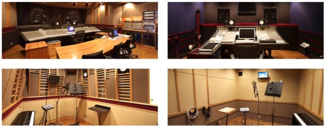 収録スタジオの例