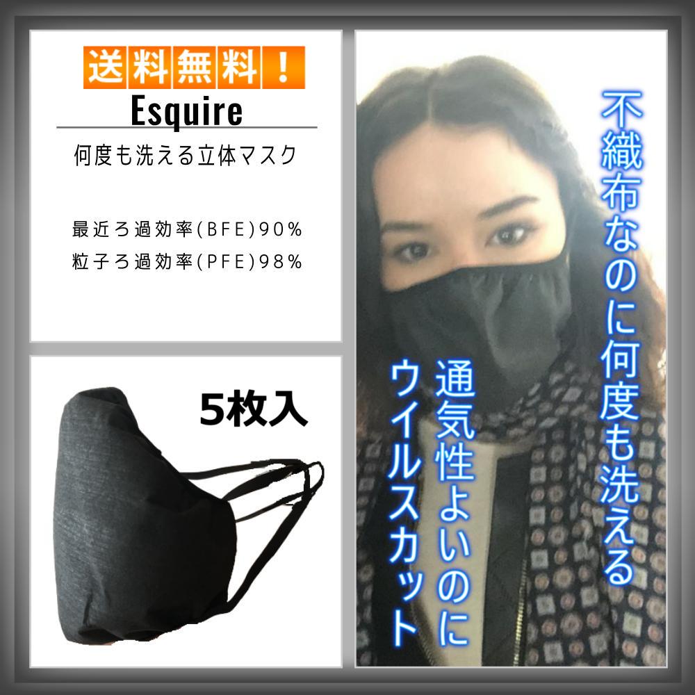 洗う 不織布 マスク