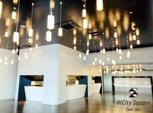 『HIcity square Café/bar(エイチ・アイ・シティ スクエア カフェ・バー)』が羽田イノベーションシティにオープン!