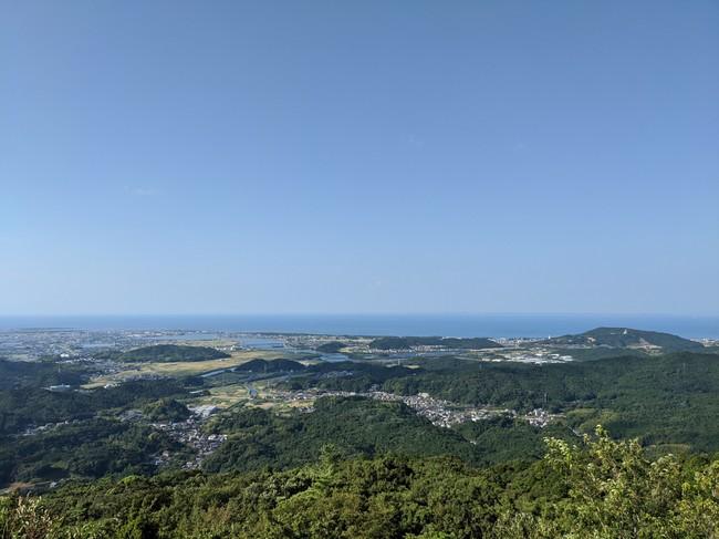 朝熊山からの風景