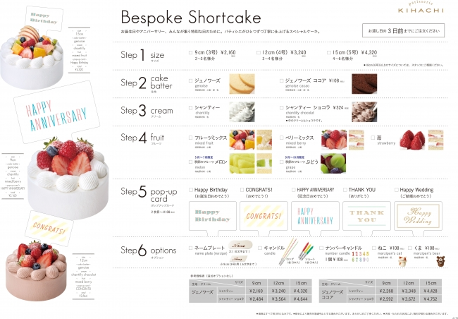 ビスポークショートケーキオーダー表イメージ