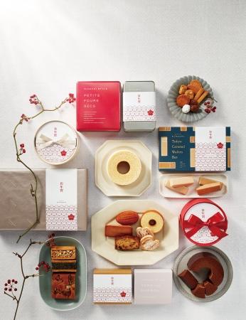 【パティスリー キハチ】市松模様の新年スイーツ&冬の東京土産