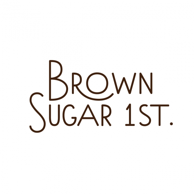 BROWN SUGAR 1ST.ロゴ