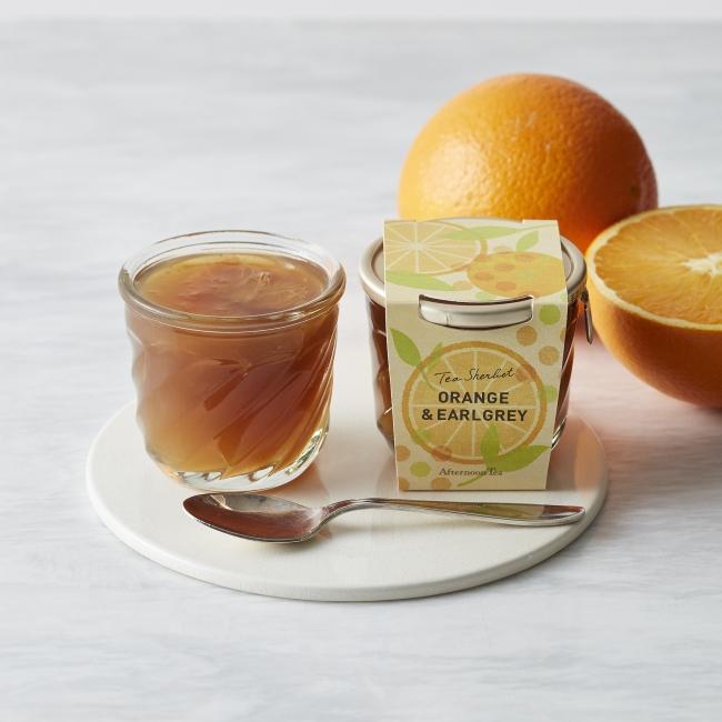 ティーシャーベット オレンジ&アールグレイ