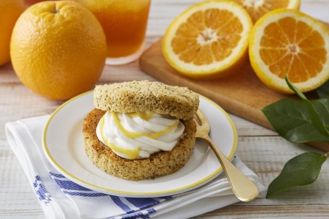 Afternoon Tea監修スイーツ「オレンジアールグレイの紅茶シフォンサンド」