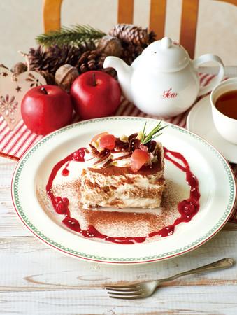 林檎と紅茶のティラミス