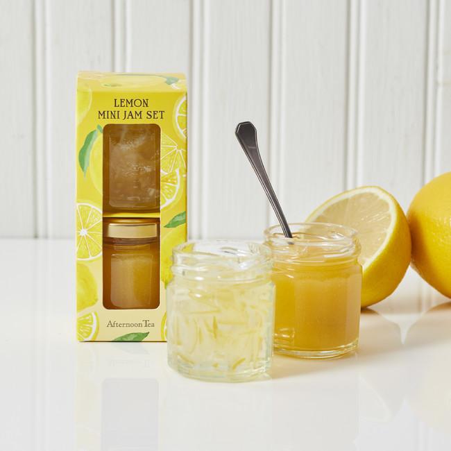 レモンのミニジャムセット
