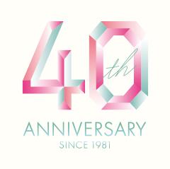 40周年ロゴ