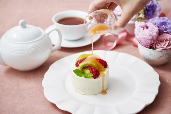 アフタヌーンティー40 周年記念スイートフルーツティーのショートケーキ2
