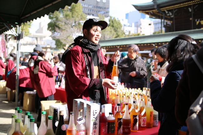 自主開催で1万人の来場。【世界最大の梅酒イベント】としてギネス世界記録(R)にも認定されました