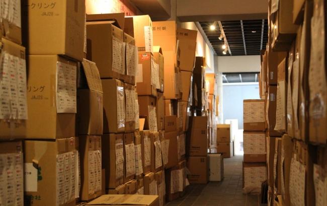 倉庫には約5000本を超える梅酒、リキュールが眠っています
