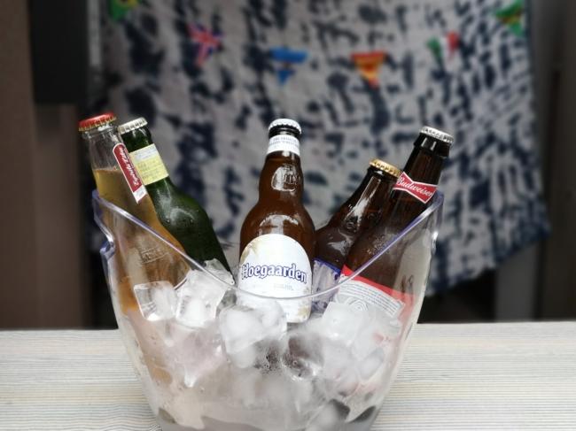 世界のビールバケツイメージ